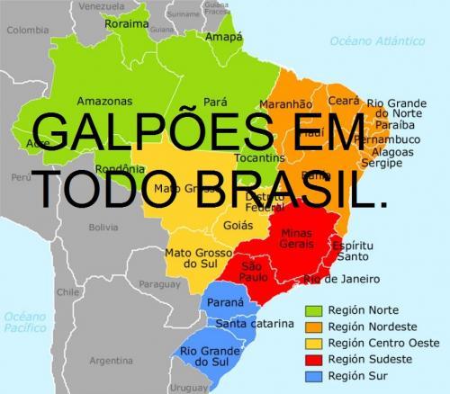 Resultado de imagem para galpoes em todo brasil